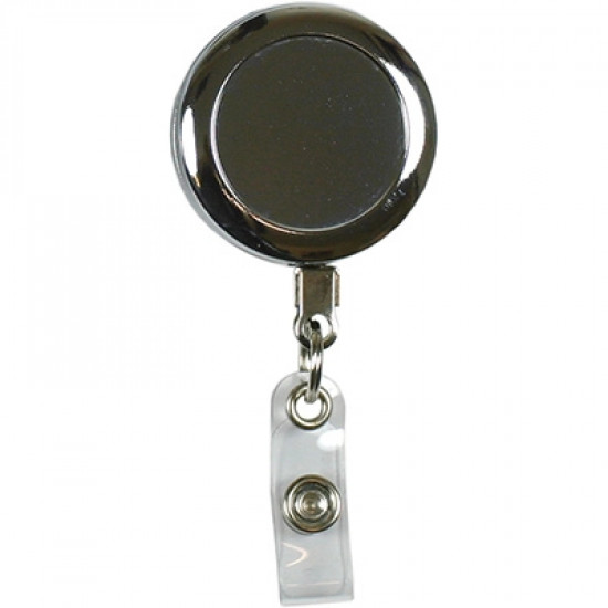 Heavy Duty Badge Reel with Wire Cord and Strap