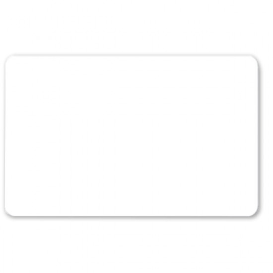 Blank White Composite Cards - pack of 100