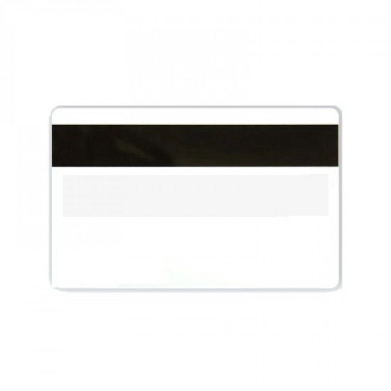 Hi-Co Magnetic Stripe Cards With Signature Strip - pack of 100