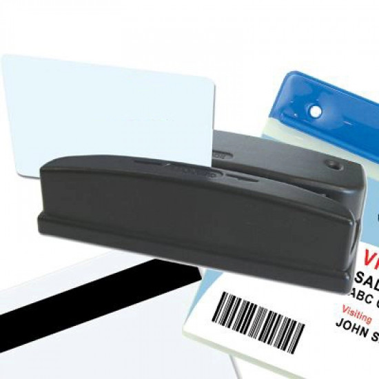 Barcode and Magnetic Stripe Card Reader