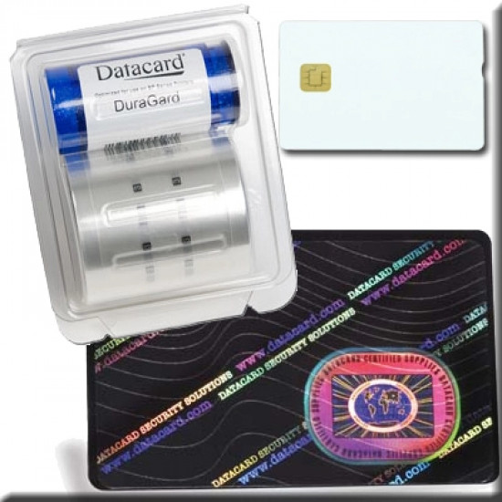 Datacard 1.0mil Secure Globe - Smart 562765-003