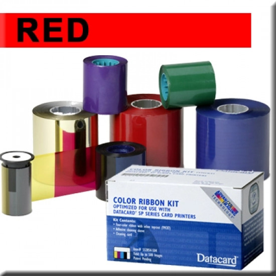 Datacard Red Ribbon Kit