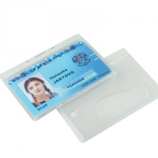 Enclosed Badge Holders - Horizontal