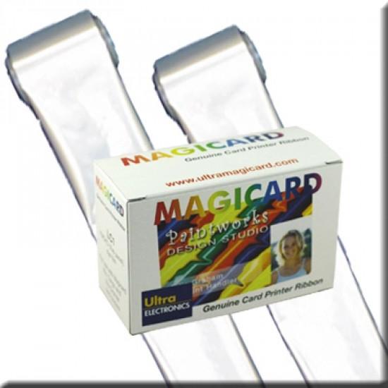 Magicard LC3 Single Colour Ribbon - Silver M9005-753-6
