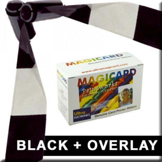 Magicard LC6 Black Resin & Overlay Ribbon M9005-756
