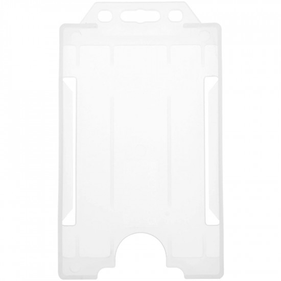 Open Faced Badge Holders - Vertical - Clear - pack of 100