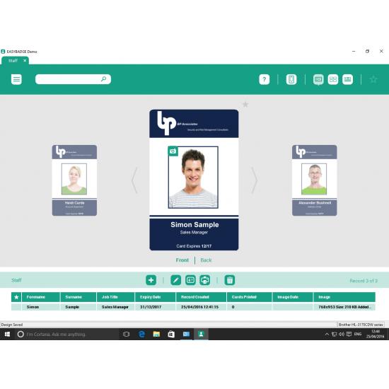 EasyBadge Lite ID Card Software