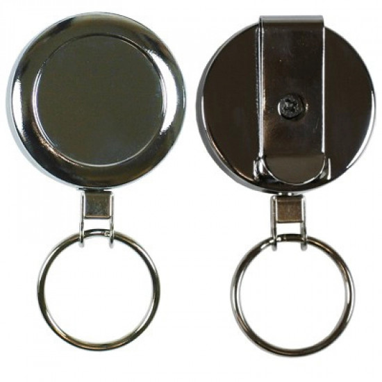 Heavy Duty Reel with Wire Cord and Keyring