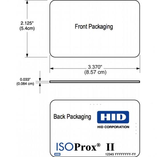 HID 1386 ISOProx II HID136
