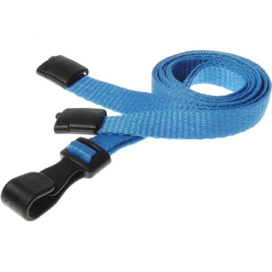10mm Breakaway Safety Lanyard with Plastic Clip - pack of 100