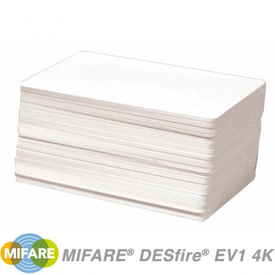 NXP MIFARE DESFire EV1 4K Cards - pack of 100
