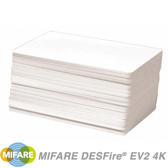 NXP MIFARE DESFire EV2 4K Cards MF3D4201DUD - pack of 100