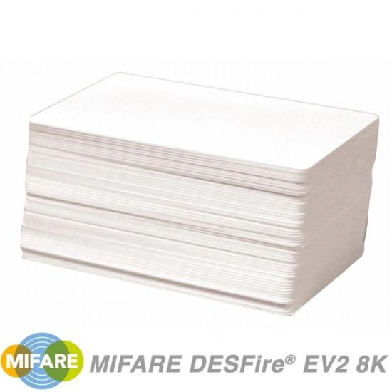 NXP MIFARE DESFire EV2 8K Cards MF3D8201DUD - pack of 100