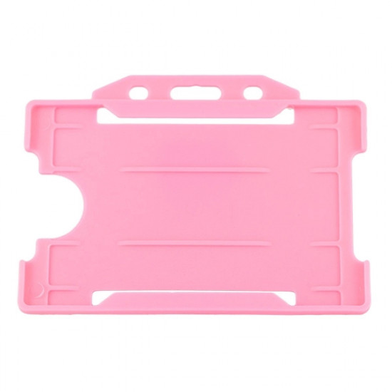 Evohold Open Faced Badge Holder - Horizontal - available in 15 colours - pack of 100