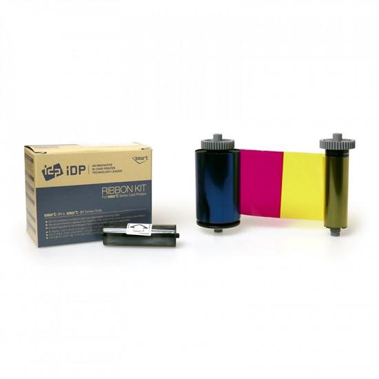 IDP Smart 31 & 51 659376 YMCKOK Colour Ribbon - 200 Image 659376