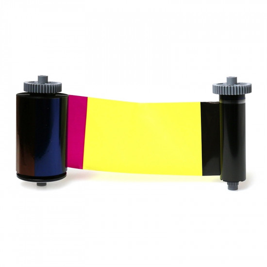 IDP Smart 31 & 51 659380 YMCFKO Colour Ribbon With UV - 200 Image 659380