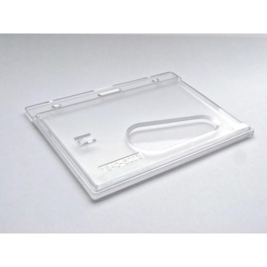 Crystal badge holder (Landscape) - pack of 100