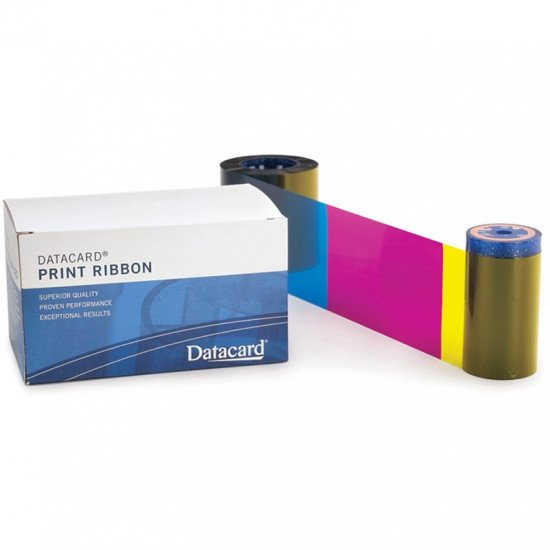 Datacard YMCKT Colour Ribbon - 500 Image 534000-003