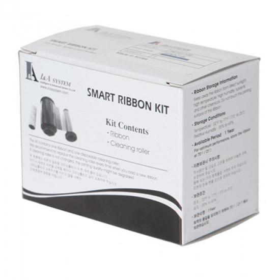 IDP Smart Black Monochrome Ribbon With Overlay Panel  - 600 Image 650655