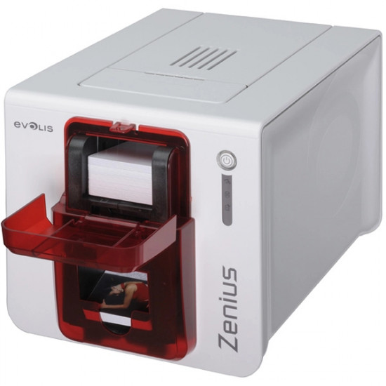Evolis Zenius Card Printer With Contact Smart GEM PC
