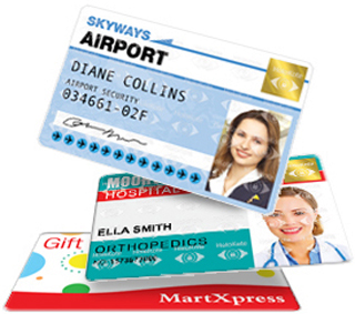 Quickly print full colour id card